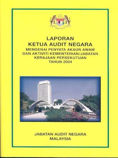 Laporan Ketua Audit Negara Pegawai Jabatan Audit Negara Telah Menyertai Perbincangan Mengenai Pembangunan Pdf Document