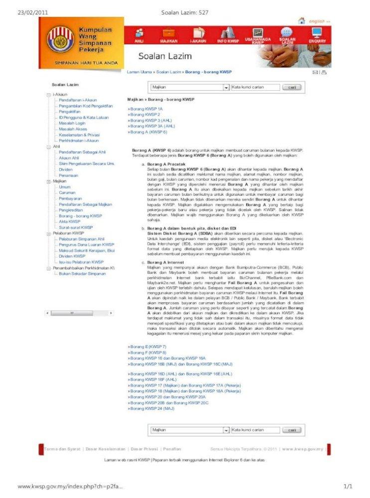 Soalan Lazim 527 Pdf Document
