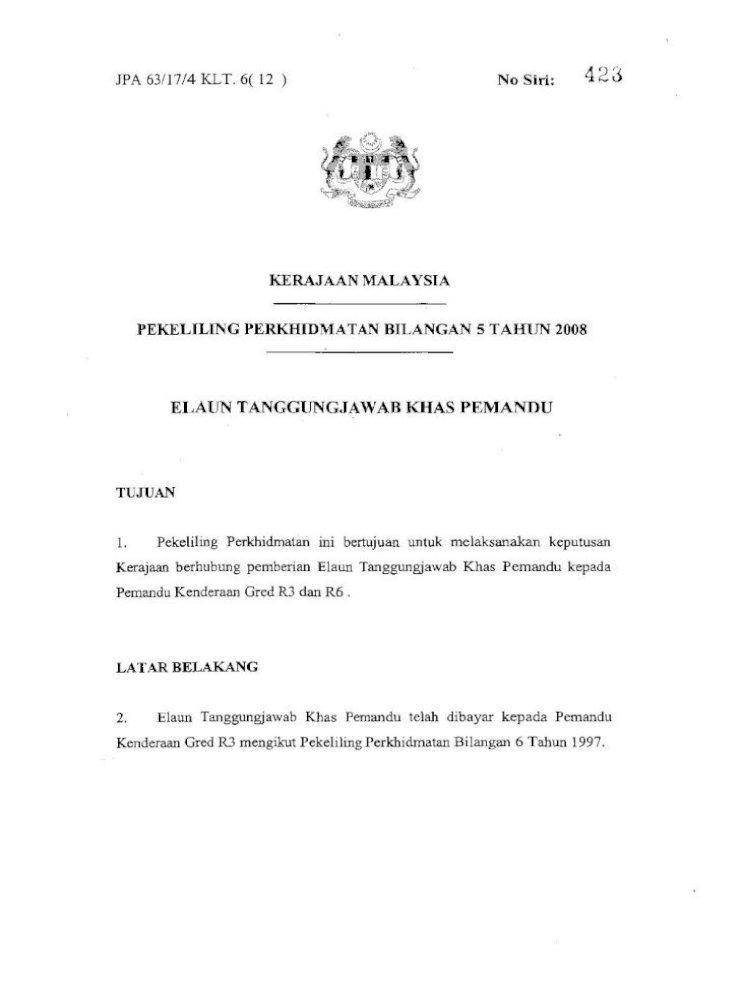 Pekeliling Perkhidmatan Bilangan 5 Tahun Title Pekeliling Perkhidmatan Bilangan 5 Tahun 2008 Author Pdf Document