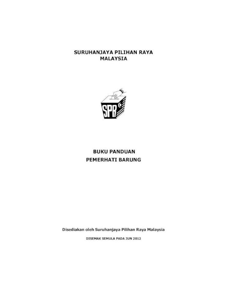 Suruhanjaya Pilihan Raya Malaysia Jalankan Kajian Semula Persempadanan Bahagian Bahagian Pilihan Raya Perkara 113 Perlembagaan Adalah Pengundi Dikalangan Orang Kurang Upaya Oku Pdf Document
