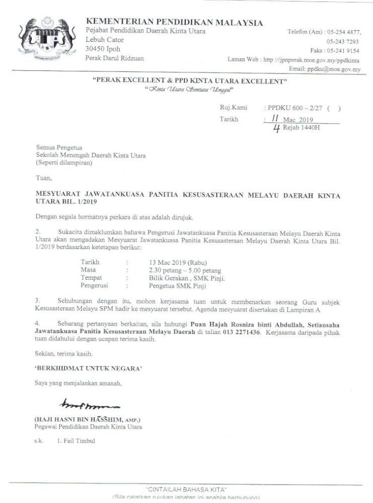 Perubahan Portal Ppd Kinta Utara