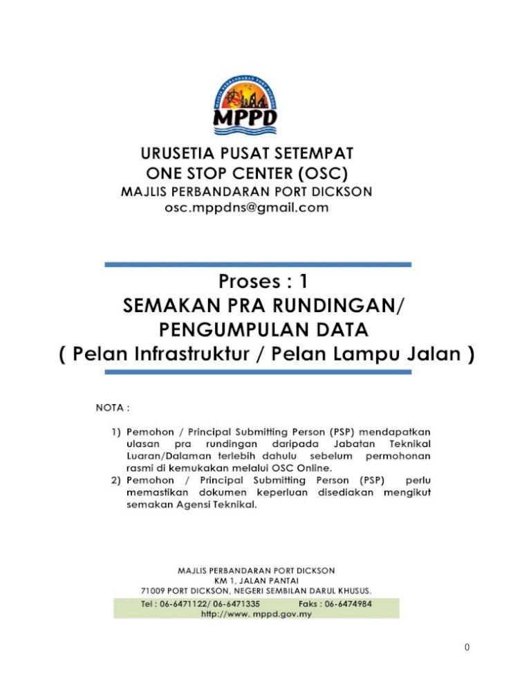 Urusetia Pusat Setempat One Stop Center Osc Mppd Gov My Sites Default Files Mppd Sumber Muat Turun Borang Bahagian 1 Pdf Document